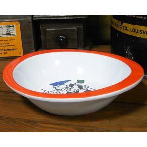 ブルーナ チルドレンボウル 深皿 オレンジファーム|colors-kitchen|02