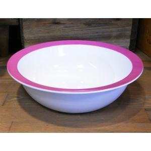ロスティメパル ウェーブボウル 深皿 ピンク|colors-kitchen