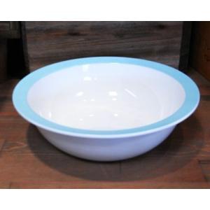 ロスティメパル ウェーブボウル 深皿 アズール|colors-kitchen