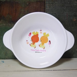 がんばれ!ルルロロ スープ皿 深皿 くまのがっこう 子供食器|colors-kitchen