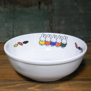 ミッフィーとおともだち ラーメン鉢 ボウル 深皿 メラミン食器|colors-kitchen