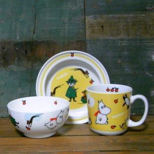 ムーミン 子供食器 3ピースセット MOOMIN 食器ギフト 贈り物|colors-kitchen