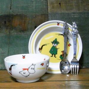 ムーミン 子供食器 プレート&ボウルセット MOOMIN 食器ギフト 贈り物|colors-kitchen