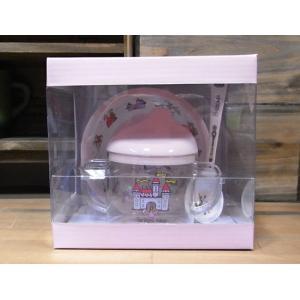 ティレルカッツ ベビー食器 3点セット 出産祝い プリンセス メラミン食器|colors-kitchen