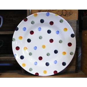 メラミン製 大皿 エマブリッジウォーター ポルカドット|colors-kitchen