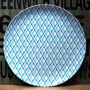 バッカー メラミン製 大皿 Bakker made with love ライトブルー|colors-kitchen