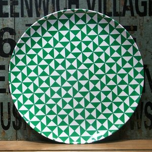 バッカー メラミン製 大皿 Bakker made with love グリーン|colors-kitchen