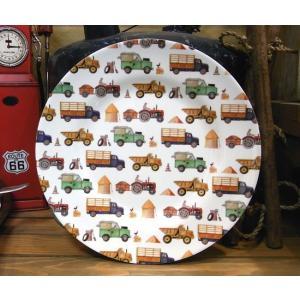 メラミン製 大皿 エマブリッジウォーター 働く車|colors-kitchen
