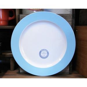 メラミン製 大皿 ロスティメパル ブレックファーストプレート アズール|colors-kitchen
