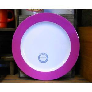 メラミン製 大皿 ロスティメパル ブレックファーストプレート ピンク|colors-kitchen