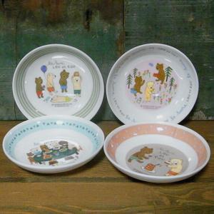 くまのルー LOU et COU ミニプレート 小皿 メラミン食器|colors-kitchen