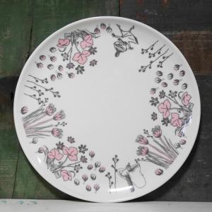 ムーミン メラミンプレート ハイド&シーク 中皿 ダンス メラミン食器|colors-kitchen