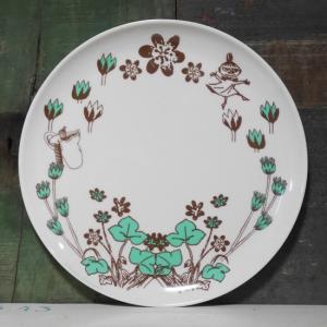 ムーミン メラミンプレート ハイド&シーク 中皿 覗き込み メラミン食器|colors-kitchen