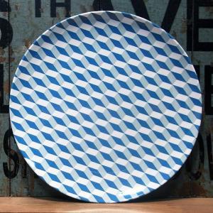 バッカー メラミン製 中皿 Bakker made with love ブルー colors-kitchen