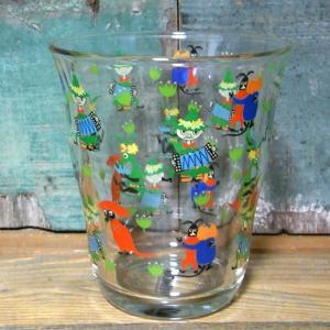 ムーミン ガラスタンブラー ミュージック MOOMIN グラス コップ スナフキン スニフ|colors-kitchen