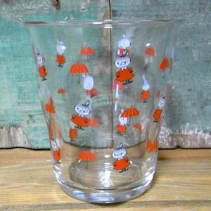 ムーミン ガラスタンブラー リトルミイ MOOMIN グラス コップ|colors-kitchen