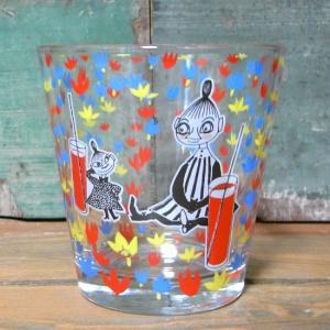 ムーミン ガラスタンブラー ジュース MOOMIN グラス コップ リトルミイ|colors-kitchen