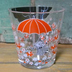 ムーミン ガラスタンブラー アンブレラ MOOMIN グラス コップ リトルミイ|colors-kitchen