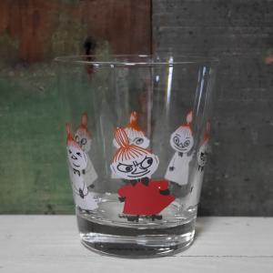 ムーミン クッピー ガラスタンブラー リトルミィ MOOMIN グラス コップ|colors-kitchen