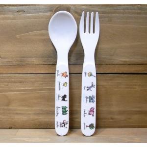 ラシェーズロング スプーン フォーク ファーム メラミン食器|colors-kitchen