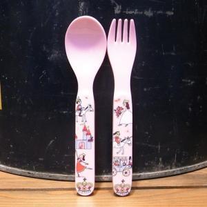 ティレルカッツ スプーン フォーク プリンセス メラミン食器|colors-kitchen