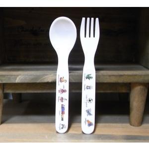 ラシェーズロング スプーン フォーク ロボ メラミン食器|colors-kitchen