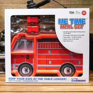 アーバントレンド ミールセット ファイヤーエンジン 消防車 お食事セット ランチプレート スプーン フォーク|colors-kitchen