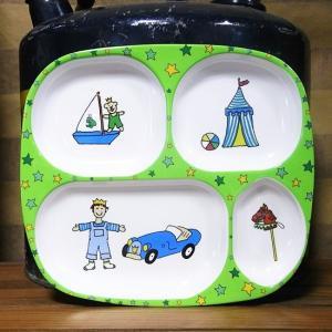 ライス キッズランチプレート 男の子 rice メラミン食器|colors-kitchen