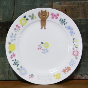 くまのルー LOU et COU ケーキ皿 パン皿 ル・シュクル 戸崎尚美|colors-kitchen