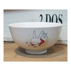 シンジカトウ 子供 お茶碗 ウサギ colors-kitchen 02