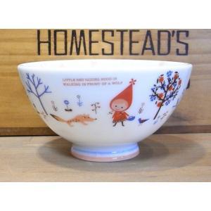 シンジカトウ 子供 軽量 お茶碗 赤ずきん|colors-kitchen