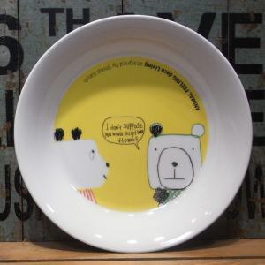 シンジカトウ カレー パスタ皿 フラワー|colors-kitchen