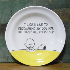 スヌーピー カレー皿 パスタ皿 SNOOPY ディッシュプレート イエロー|colors-kitchen