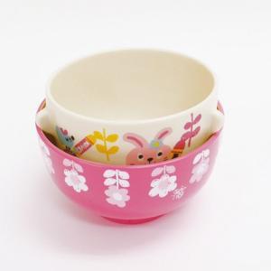 Rub a dub dub 茶碗 汁椀 セット うさぎ ラブアダブダブ ベビー食器|colors-kitchen|06