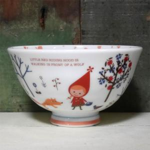 シンジカトウ ふんわり茶碗 赤ずきん 超軽量 お茶碗|colors-kitchen