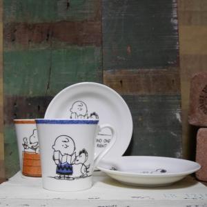 スヌーピー モーニングペアセット SNOOPY マグカップ プレート|colors-kitchen