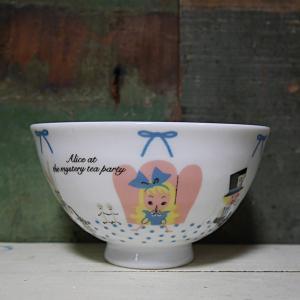 シンジカトウ ふんわり茶碗 アリス Shinzi Katoh 超軽量 お茶碗|colors-kitchen