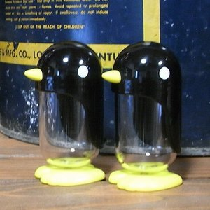 ラシェーズロング ソルト&ペッパー  ペンギン ディスペンサー|colors-kitchen