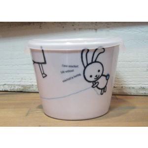 シンジカトウ レンジパック ウサギ いたずら|colors-kitchen