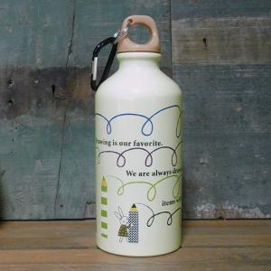 アルミニウムボトル 水筒 scrawl ドリンクボトル シンジカトウ|colors-kitchen