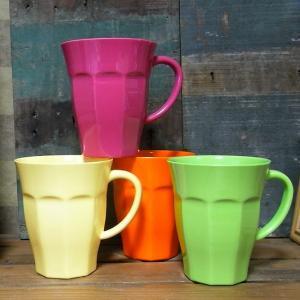 メラミン マグカップ シーズナル コップ メラミンカップ|colors-kitchen