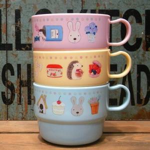 ルシュクル スタッキング コップ 3個セット 戸崎尚美 マグカップ colors-kitchen