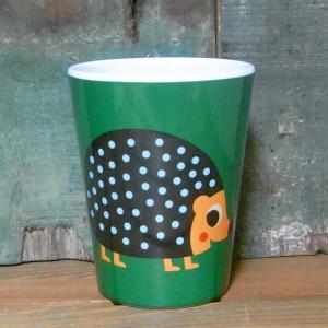 メラミンタンブラー ハリネズミ OMM-design メラミンカップ Hedgehog|colors-kitchen