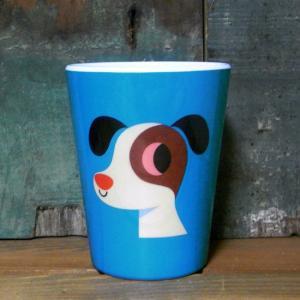 メラミンタンブラー ドッグ OMM-design メラミンカップ Dog|colors-kitchen