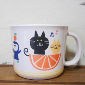 DECOLE デコレ メラミンマグカップ PONOZKY ポノシュキー イエロー メラミン食器|colors-kitchen