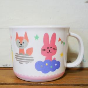 DECOLE デコレ メラミンマグカップ PONOZKY ポノシュキー ピンク メラミン食器|colors-kitchen