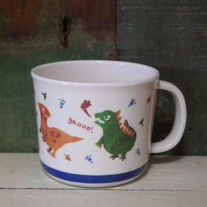 DECOLE デコレ メラミンカップ Regenbogen きょうりゅう マグカップ メラミン食器|colors-kitchen