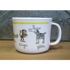 ラシェーズロング ハンドル付きカップ ジャングル マグカップ|colors-kitchen