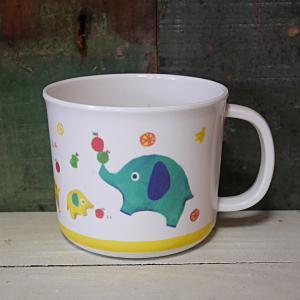 DECOLE デコレ メラミンカップ Regenbogen くだもの マグカップ メラミン食器|colors-kitchen