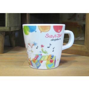スージーズー ハンドル付きカップ マグカップ メラミン食器|colors-kitchen